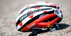The lightweight aero-road Giro Synthe MIPS helmet uses MIPS technology to reduce the impact forces that can cause concussions.