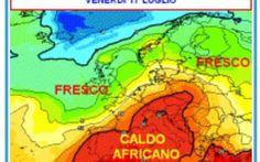 """GRANDE CALDO: ecco chi rischierà i 40° durante la settimana Il """"coperchio"""" che ricopriva il calderone africano è stato definitivamente tolto e il Continente Nero ora può sfiatare calore a suo piacimento in direzione del Mediterraneo e dell'Europa meridionale  #grandecaldo #rischi #settimana"""
