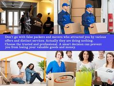 Don't go with false #packers and #movers who attracted you by various offers and distinct services. Actually they are doing nothing. Choose the trusted and #professional. A smart decision can prevent you from losing your valuable goods and money. Axis Logistic and Packers