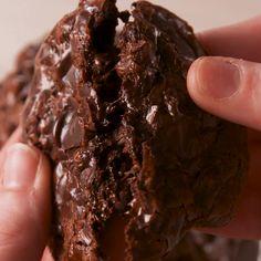 Flourless Fudge Cookies    #Cookies #Desert #Food