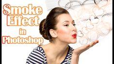 create #Smoke effect in #photoshop Hindi tutorial