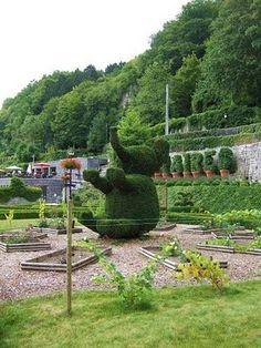 Parc des Topiaires in Durbuy, #Belgium #park #beautifulplaces