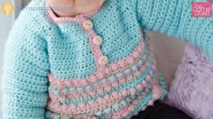 Crochet Baby Pull Over Sweater + Tutorial