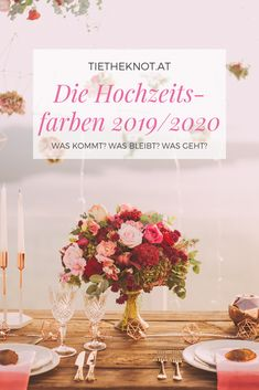 Trends: Die Hochzeitsfarben Are your wedding preparations already in full swing? Then it's time for lots of inspiration and ideas. We are dedicated to the most beautiful wedding colors 2019 and … Spring Wedding Colors, Wedding Preparation, Just Married, Most Beautiful, Wedding Planning, Place Card Holders, Inspiration, Motto, Pantone