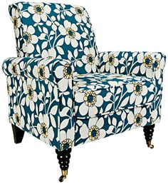 This has got to be the most cheerful floral armchairs around! Description from gabrielashome.com. I searched for this on bing.com/images