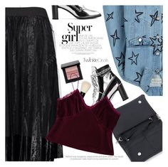 """Party Girl"" by pokadoll ❤ liked on Polyvore featuring Stuart Weitzman, Bobbi Brown Cosmetics, Être Cécile, polyvoreeditorial and polyvoreset"