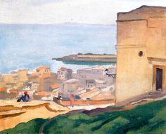 View of the Casbah / Albert Marquet - 1920
