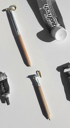 Holon Institute of Technology students create alternative pencil designs.