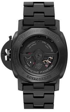 Panerai PAM 438 Tuttonero GMT matte black ceramic (movement)