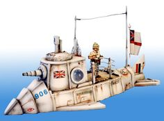 Kevin Dallimore's 28mm Victorian Submarine 1