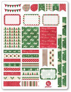 Traditionelle Weihnachten Dekorieren Kit / wöchentlich