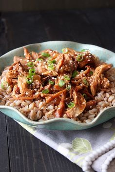Slow Cooker Honey Sesame Chicken is ridiculously tender, tasty, simple, and cheap and surely better than your local takeout joint.