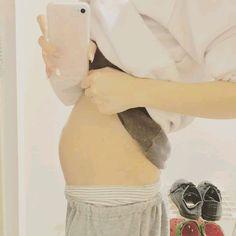 Korean Babies, Asian Babies, Dad Baby, Baby Boy, Belly Photos, Daddy Aesthetic, Ulzzang Kids, Cute Gay Couples, Korean Couple