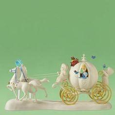 Disney Dept 56 Snowbabies Cinderella's Coach