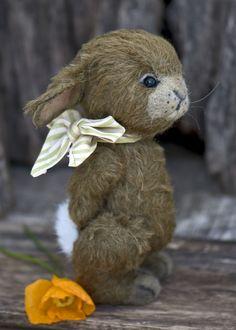 Dusty Bunny.                                                                              ~threeoclockbears.com