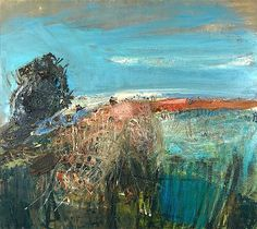 bofransson:    Joan Eardley A Field by the Sea – Summer