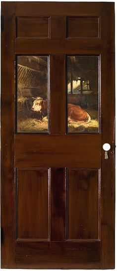 William Henry Howe: panels painted in the parlor or dining room at the Lyme Art Colony.