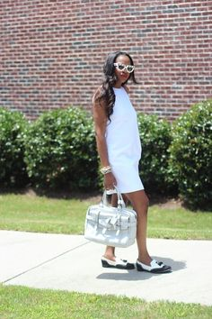 Awed by Monica: FASHION AND STYLE: WHITE ON BLACK MOD