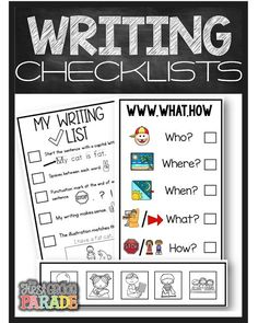 Writing checklists are the perfect tools to encourage student independence when writing independently.  Students can empower themselves using these resources that are FREE to download! Every teacher needs these writing checklists in his/her teacher toolki