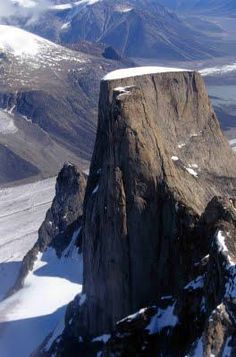 Mt Asgard, Baffin Island from The Spy Who Loved Me