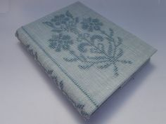 Cross Stitch Journal Cover and Journal - Bouquet