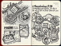 A visual diary could be so great to look back on after months of sketching life.