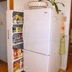 case in the fridge, and create small pantry