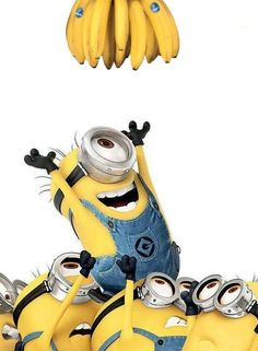 Minions And Bananas.: