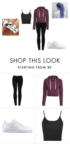 """Maximum Ride"" by huntress-diangelo on Polyvore featuring 2LUV, H&M, NIKE and Topshop"