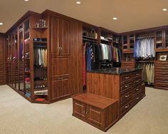 Rigid thermal foil (RTF) two-piece inset. I wish my closet was this big. To start your road to unparalleled organization start here: