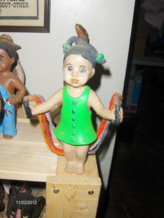SOLD OUT: $20 Jumping rope: Check out these ceramics and more at http://adasstudent.weebly.com/african-american.html