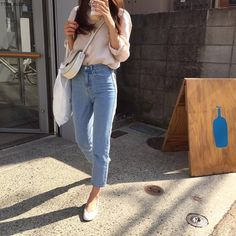 Korean Fashion – How to Dress up Korean Style – Designer Fashion Tips Classy Outfits, Casual Outfits, Cute Outfits, Fashion Outfits, Womens Fashion, Fashion Ideas, Korean Fashion Trends, Korean Street Fashion, College Fashion