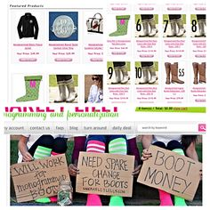 @Marley Medema Lilly is having a BOOT SALE!!! #Monogrammed #BootsByTwoAlity are included in the #SALE!!! Check out their website for more details!! www.marleylilly.com #ClearBoots #InterchangeableLiners #PerfectGift