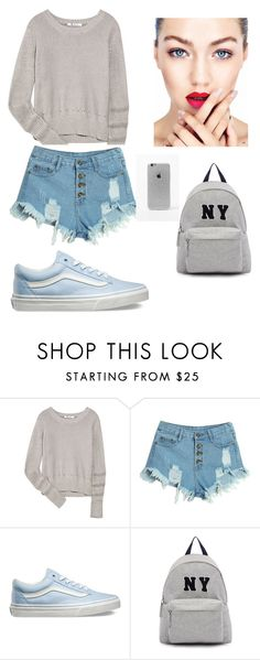"""Karya Jenova Putri Jelita (Part 3)"" by erisaoktarina on Polyvore featuring T By Alexander Wang, WithChic, Vans, Joshua's, LA: Hearts, women's clothing, women, female, woman and misses"