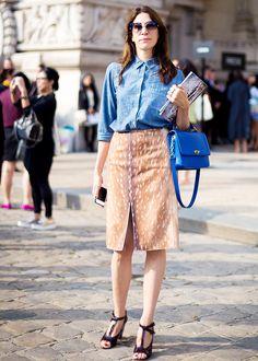 63+Denim+Street+Style+Looks+to+Inspire+You+Now+via+@WhoWhatWearUK
