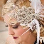 Vintage Wedding Birdcage Veil: so amazing! Roaring 20s Wedding, Great Gatsby Wedding, Vintage Wedding Theme, 1920s Wedding, Art Deco Wedding, Chic Wedding, Perfect Wedding, Wedding Ideas, Wedding Themes