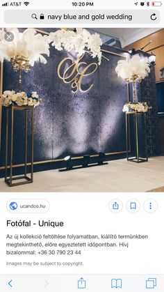 19 ideas wedding backdrop stage receptions indian for 2019 Table Flower Arrangements, Wedding Arrangements, Wedding Centerpieces, Wedding Decorations, Gatsby Wedding, Wedding Stage, Trendy Wedding, Dress Wedding, Wedding Table Flowers