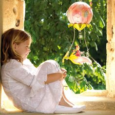 Spirited Mama's gorgeous rosebud mobile sourced from the heart of France. www.spiritedmama.com