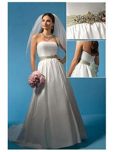 Alfred Angelo Wedding Dress Style No. IDWH2085  Our Price: $169.95 (USD) Retail Price: $999.95 (USD)  You save: $830.00 (USD)