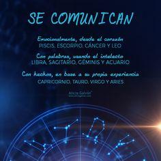 Cada signo tiene su propia forma de decir las cosas ♈♉♊♋♌♍♎♏♐♑♒♓ Todo lo que siempre has querido saber sobre astrología lo tienes en nuestra web oficial: www.aliciagalvan.com