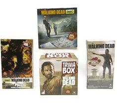 Walking Dead Trivia Box Puzzle Calendar Cards - 4 Pc Bundle @ niftywarehouse.com #NiftyWarehouse #WalkingDead #Zombie #Zombies #TV