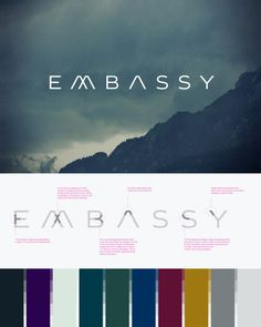 Corporate & Brand Identity - Embassy, Schweiz