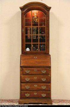 84 Best Vintage Secretary Desks Images Secretary Desk With Hutch