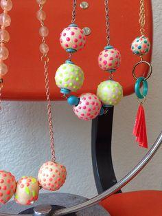 Polka Dot Bead DIY -