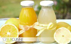 Selbstgemachte Orangen- und Zitronenlimonade und dazu Cookies White Chocolate & Lemon. So schmeckt der Sommer. #Bahlsen #LifeIsSweet