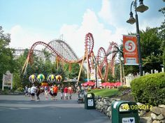 Six Flags New England.  Excited for hubby's birthday trip tomorrow! #lovinglife  #ohhappydays.