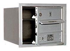 4C Horizontal Mailbox - 3 Door High Unit (13 Inches) - Single Column - 1 MB1 Door - Aluminum - Front Loading - USPS Access by Salsbury Industries. $132.73. 4C Horizontal Mailbox - 3 Door High Unit (13 Inches) - Single Column - 1 MB1 Door - Aluminum - Front Loading - USPS Access - Salsbury Industries - 820996411853