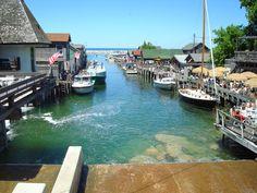 "Fish Town, Leland Michigan ""The Cove"""