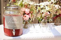 Wedding+Ideas:+strawberry-lemonade-drink-table