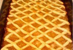 Rácsos sütemény 3. - almás